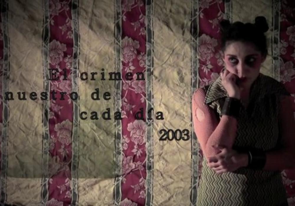 Promo EL CRIMEN NUESTRO DE CADA DIA (2013)